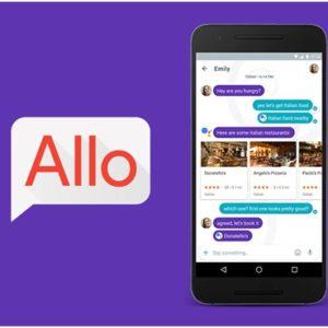 Google представил новый мессенджер Allo